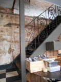 Staircase at Grove 40 cafe, Brighton