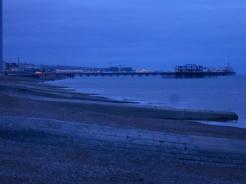 Saturday - Brighton Pier - dusk