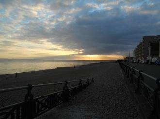 Sunday evening - sunset approaching!