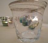 Handmade water glass from Kamakura, Japan